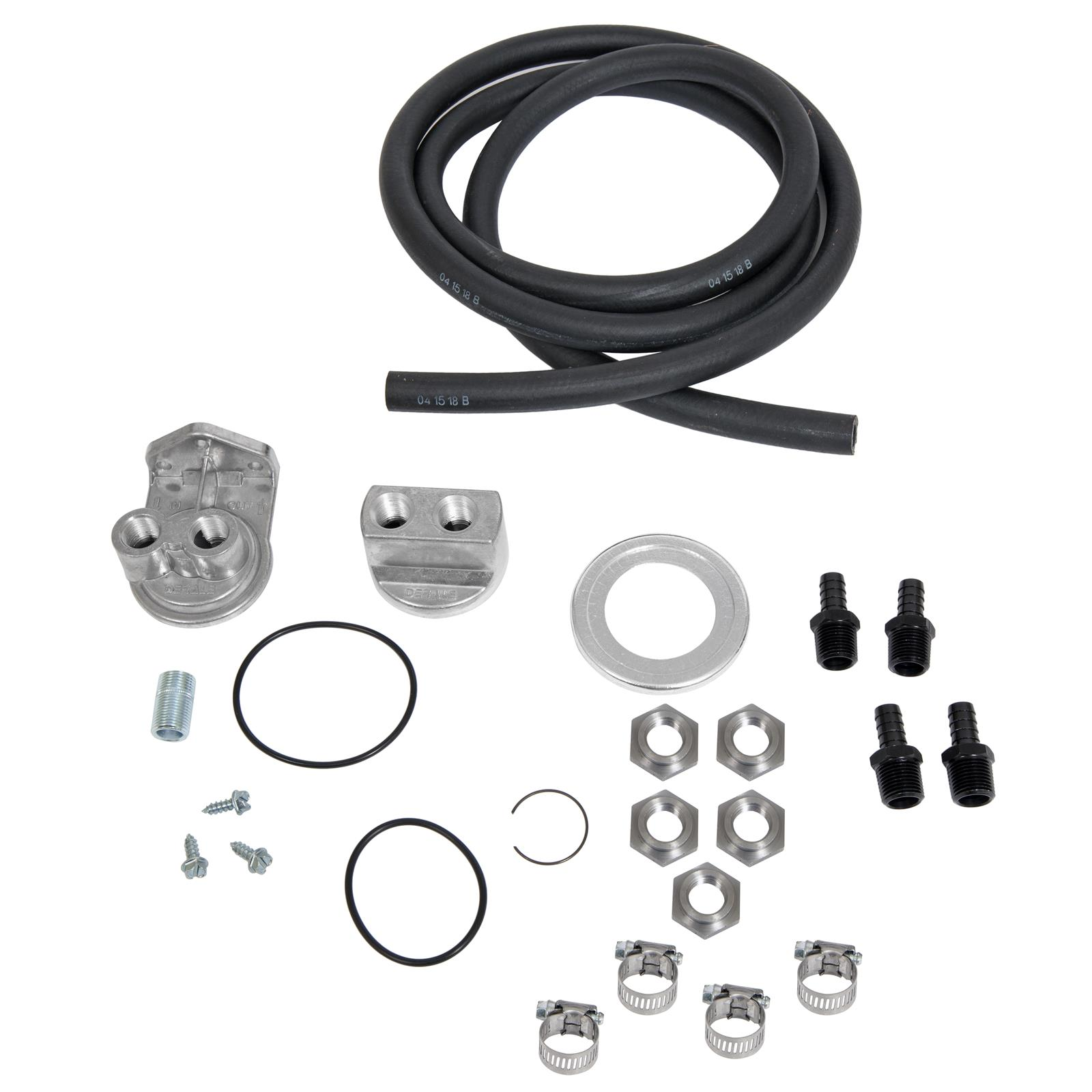 jeep comanche summit racing� oil filter relocation kits sum-g4985-1 - free  shipping on orders over $99 at summit racing