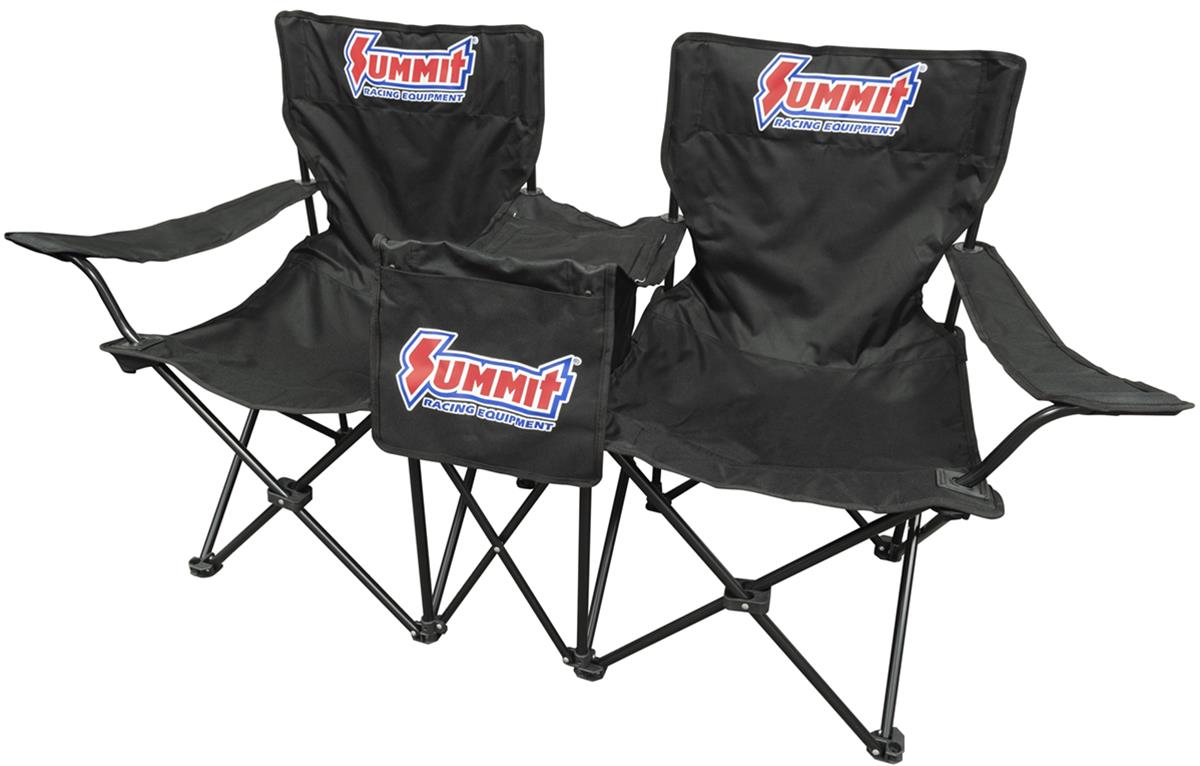Strange Summit Racing Double Seats With Cooler Table Sum P1031 Cjindustries Chair Design For Home Cjindustriesco
