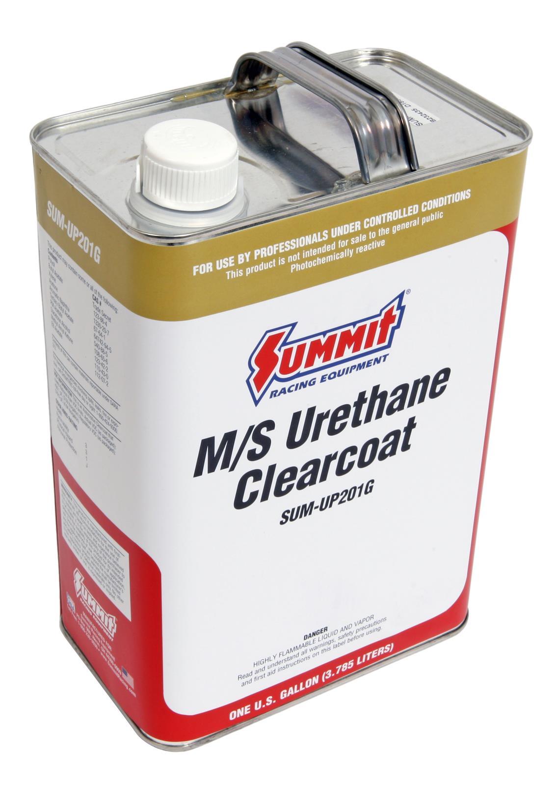 Summit Racing® Medium-Solids 2K Urethane Clear Coat SUM-UP201G
