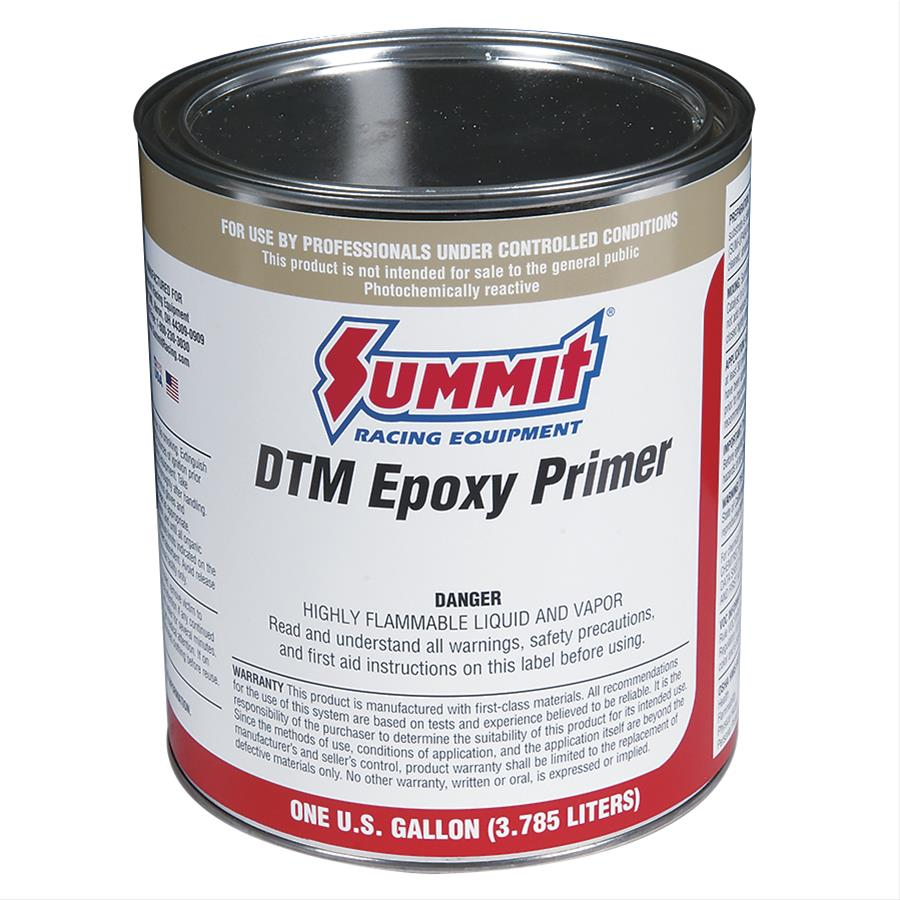 summit paint single stage primer flat gray epoxy 1 gallon ea up230 ebay. Black Bedroom Furniture Sets. Home Design Ideas