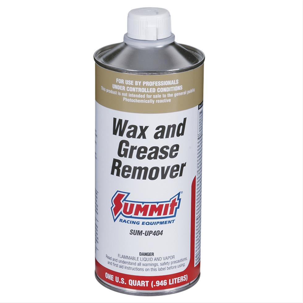 summit cleaner single stage wax and grease remover 1 qt ea up404 ebay. Black Bedroom Furniture Sets. Home Design Ideas