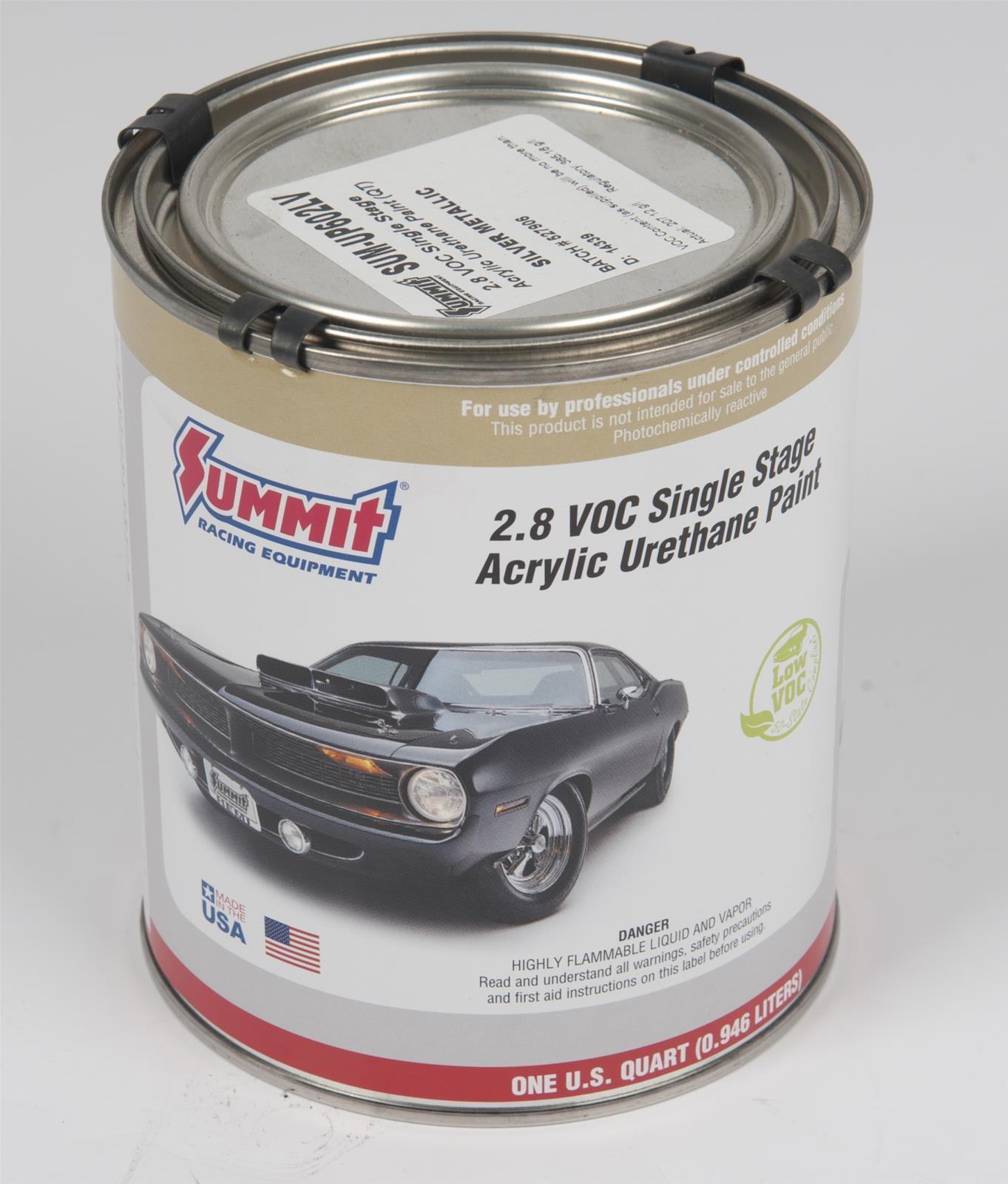 Summit Racing Equipment 2 8 Voc Acrylic Urethane Paint Sum Up602lv Free Shipping On Orders
