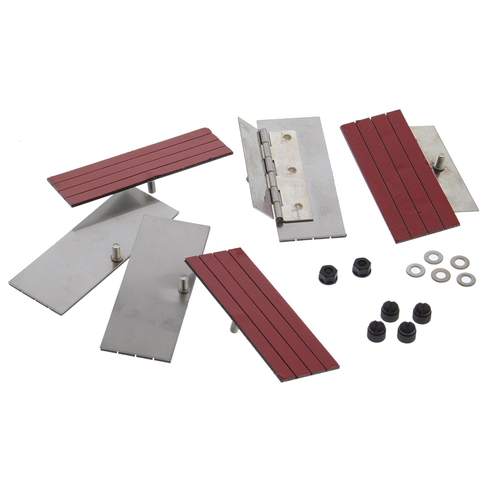 1 Set of Rear Window Louver Installation Kits Window Louver Replacement Hardware Double Side Tape Mounting Tools Kit Auto Parts Other Tools