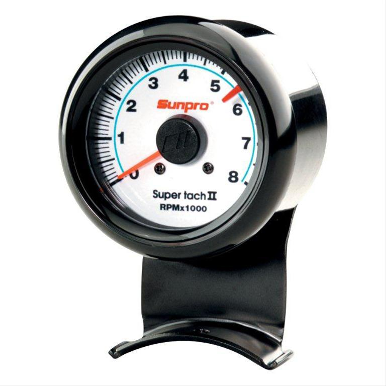 Sunpro Mini Super Tach Ii Tachometers Cp7904 Free Shipping On Orders Over 99 At Summit Racing: 2 Inch Tachometer Wiring Diagram At Satuska.co