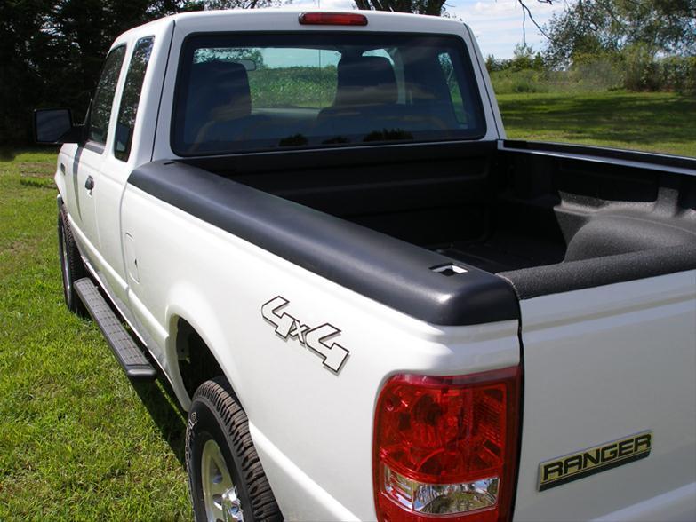 Stampede BRC0022H Black Rail Topz Bed Rail Cap