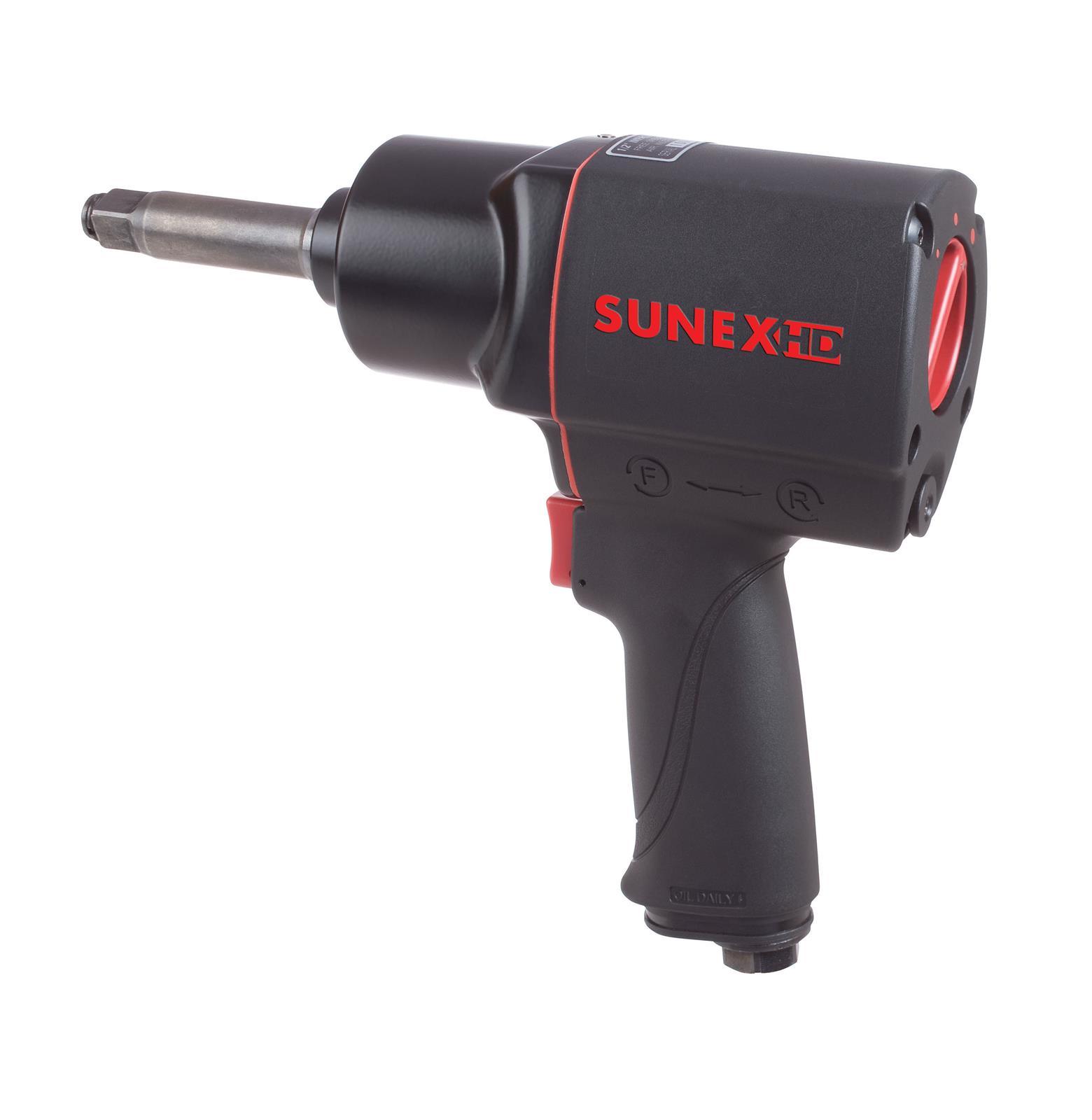 "Sunex Tools 3//8/"" Drive Palm Grip Air Impact Wrench SX111"