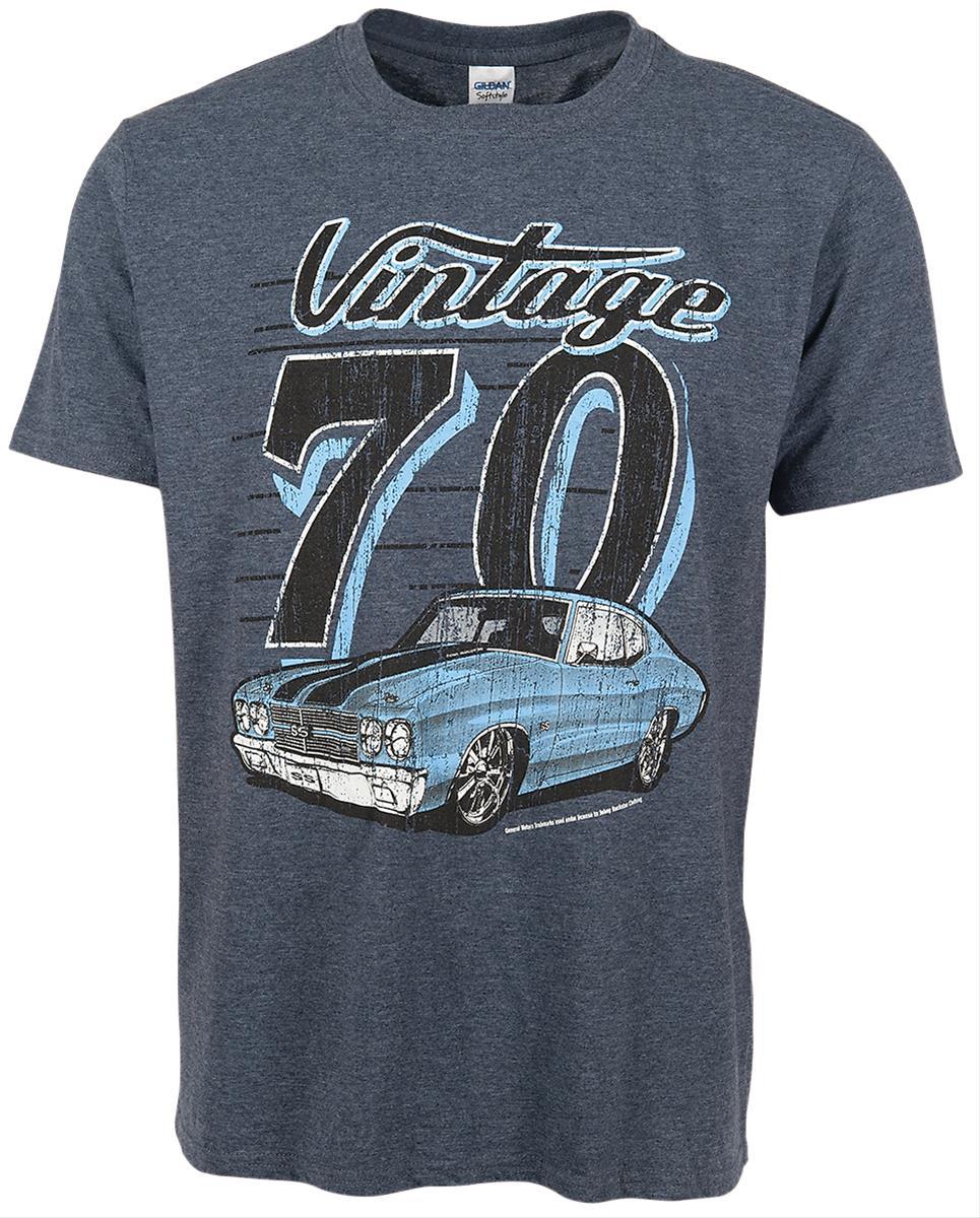 Vintage 1970 Chevy Chevelle T-Shirt VIN-003-L