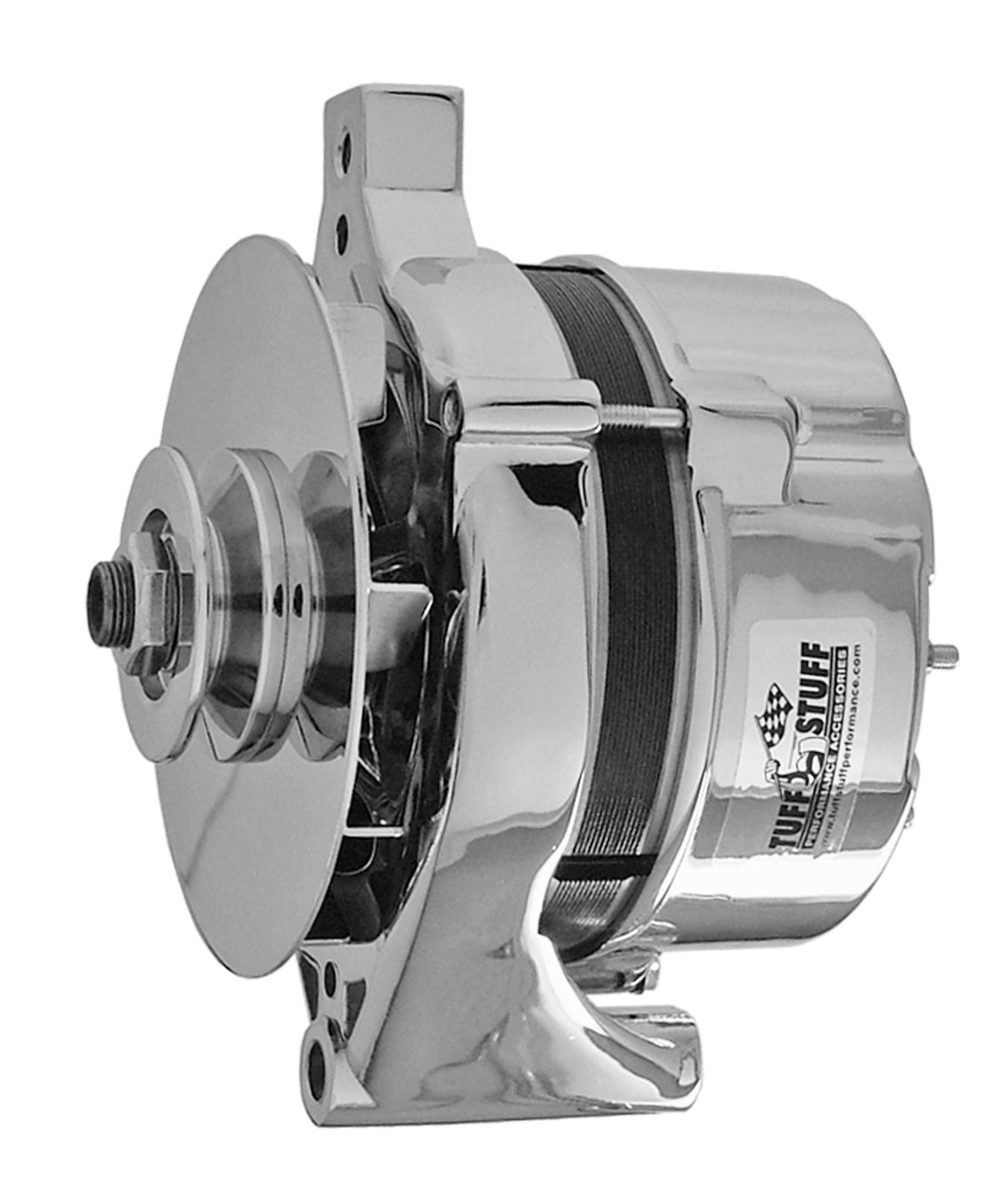 Tuff Stuff Performance High Amp Output Alternators 7078nd Free 100 Gm Alternator Wiring Shipping On Orders Over 49 At Summit Racing