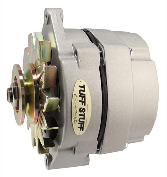 TUFF-STUFF 7600AB Alternator stealth black fan and pulley combowith