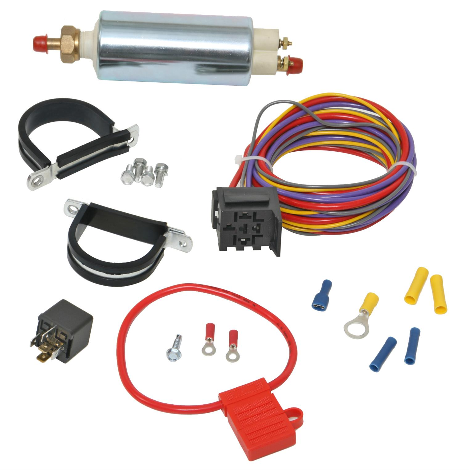 trick flow 25004k electric fuel pump wiring 30 amp relay