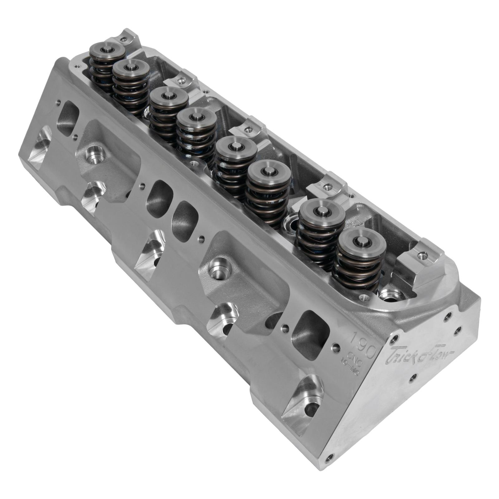 Trick Flow® PowerPort® 190 Cylinder Heads For Small Block