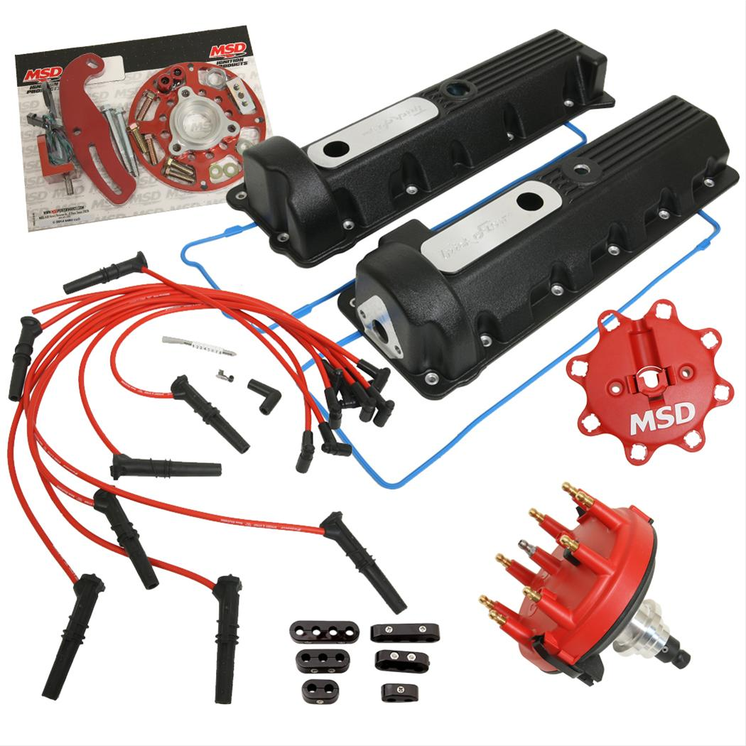 4 6 wiring harness conversion 4 6 image wiring diagram trick flow valve cover mount ignition systems for ford 4 6 5 4l on 4 6 wiring