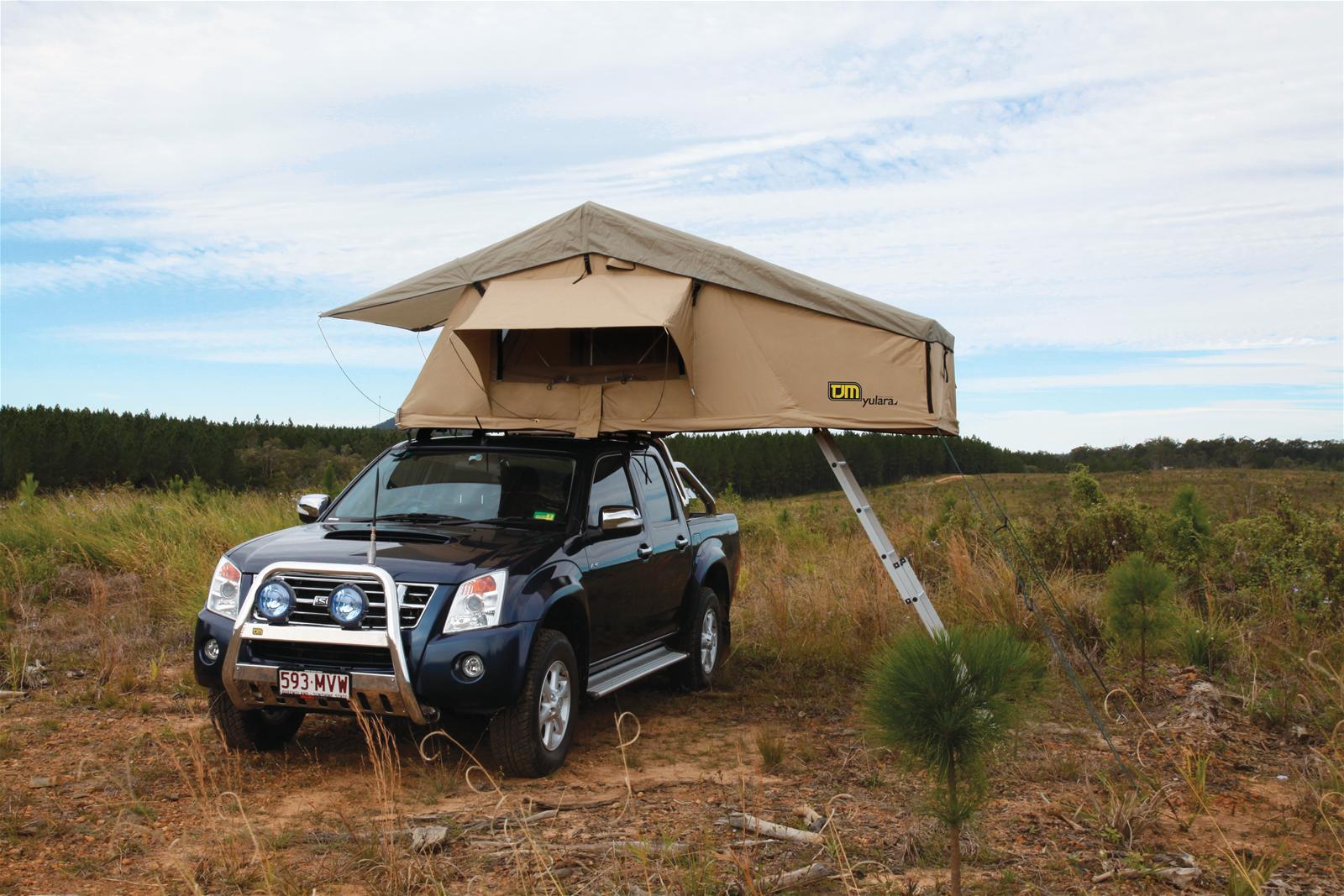Tjm Equipped Yulara Roof Top Tent 10 1 2 X 4 1 2 X 4 1 4