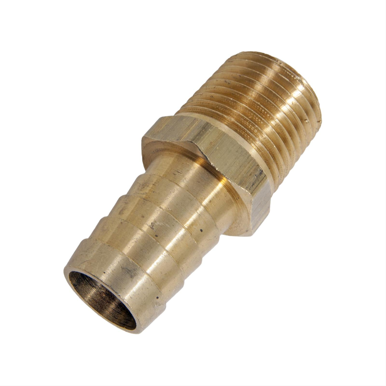 Turbonetics fitting brass straight quot npt