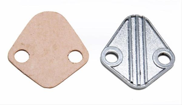 Holley 12-813 Fuel Pump Block-Off Plate
