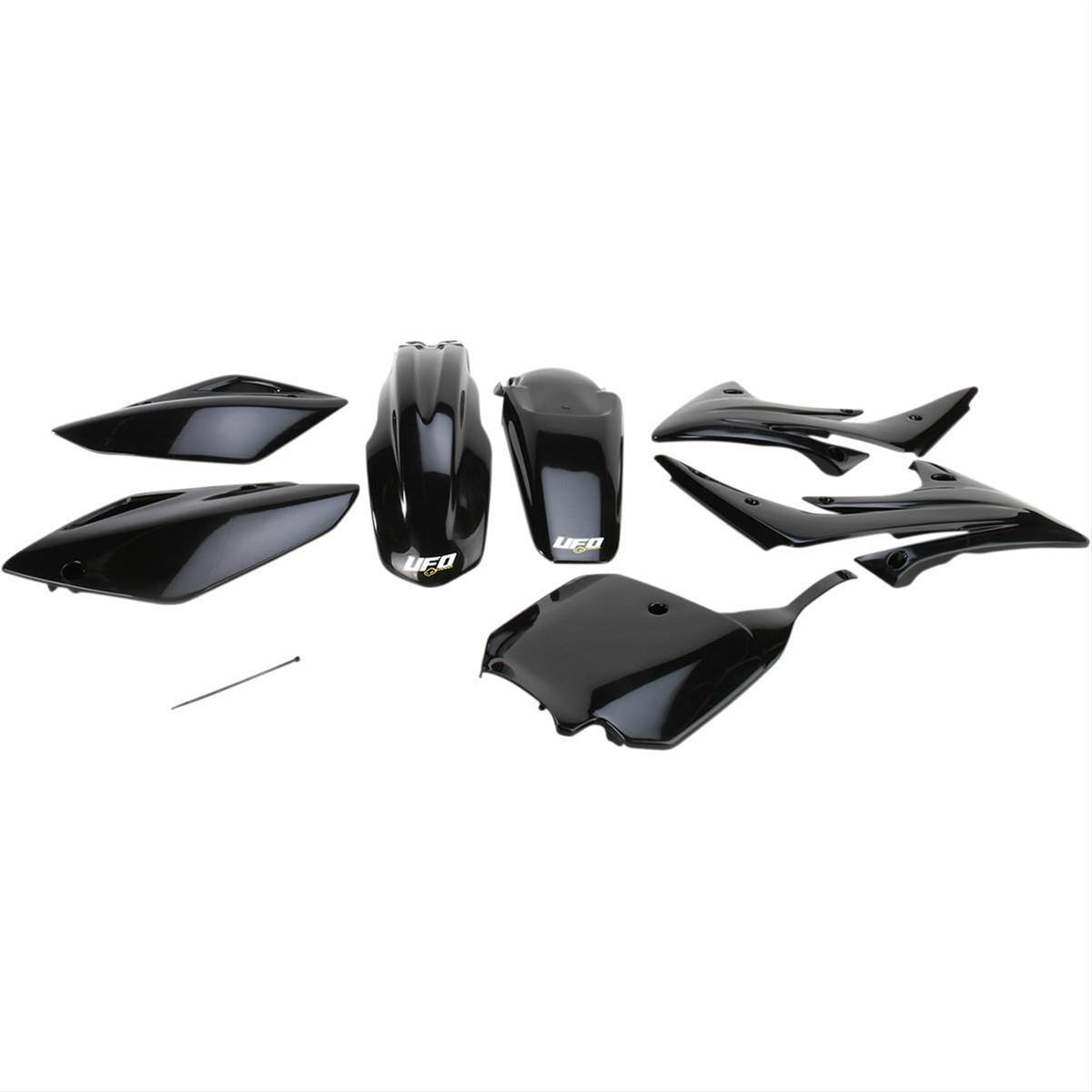 UFO Plastics KAKIT223-001 Complete Body Kit Black
