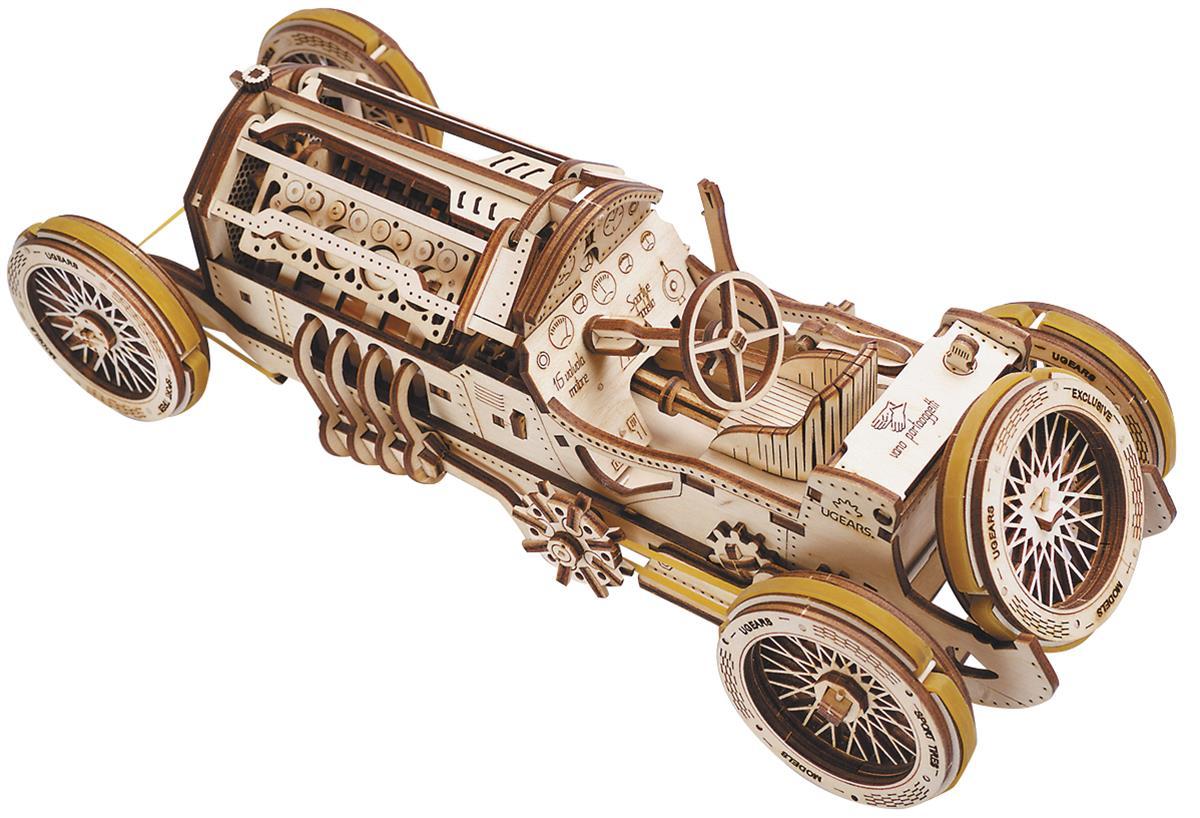 Ugears Grand Prix Car Wooden Model Kit Utg0031