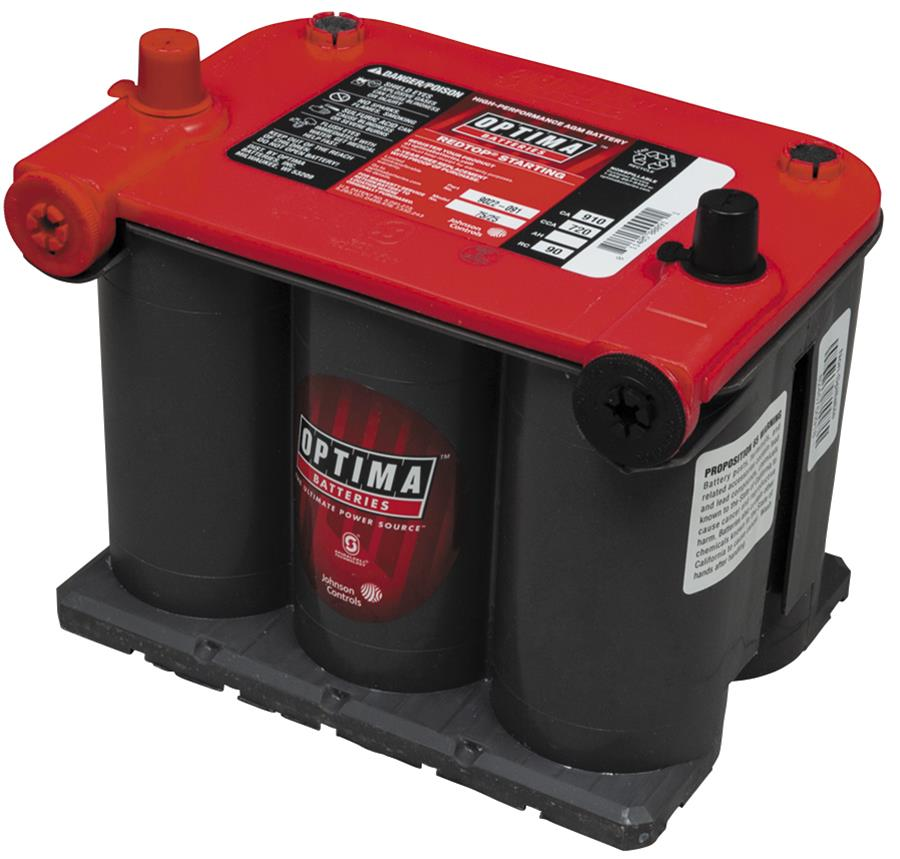 Optima Redtop Starting 12 Volt Batteries 9022 091 Free Shipping On Orders Over 99 At Summit Racing