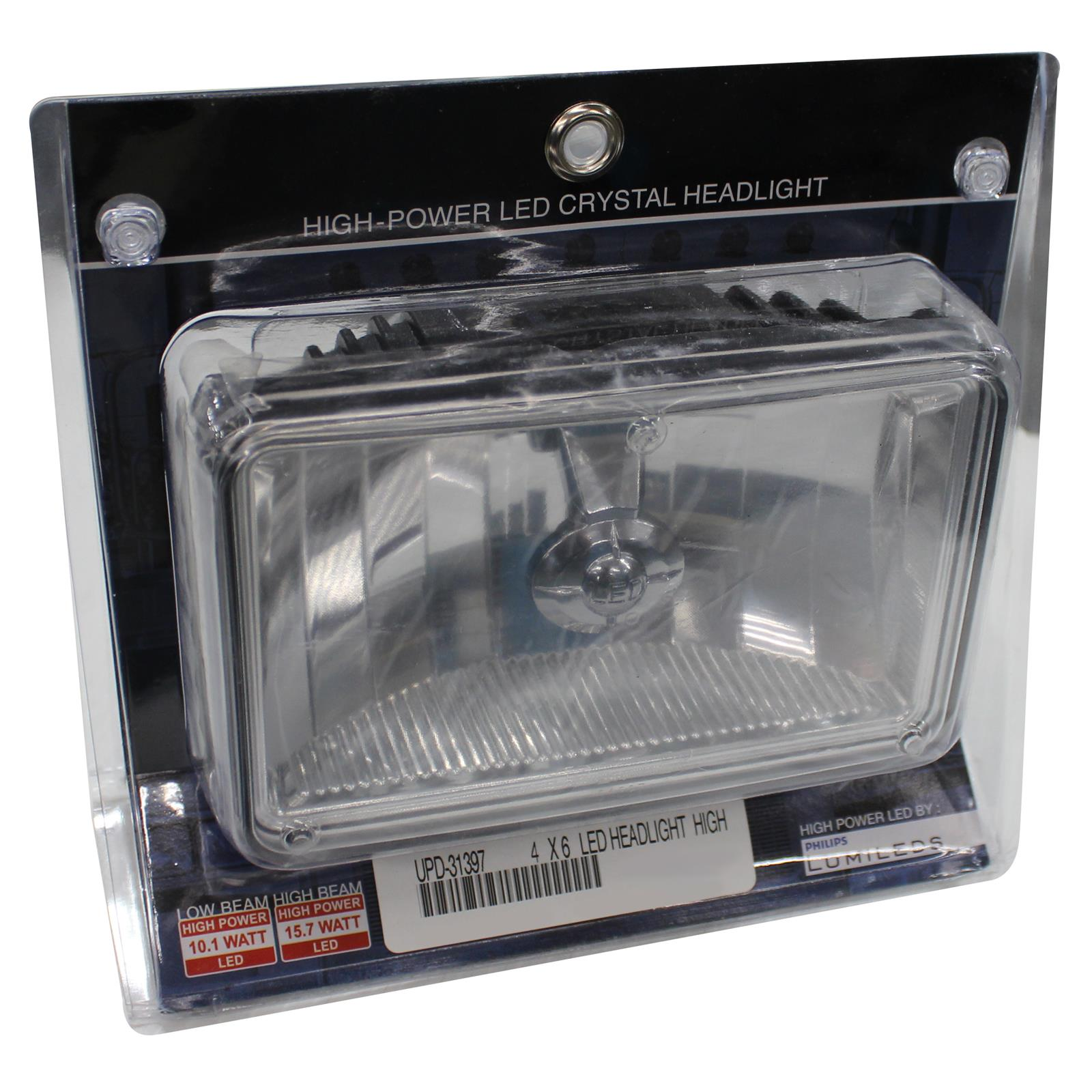 -Chrome LED 6 inch Driver side WITH install kit 2008 Gmc ENVOY DENALI-LH WO AIR CURTAIN Inside Post mount spotlight