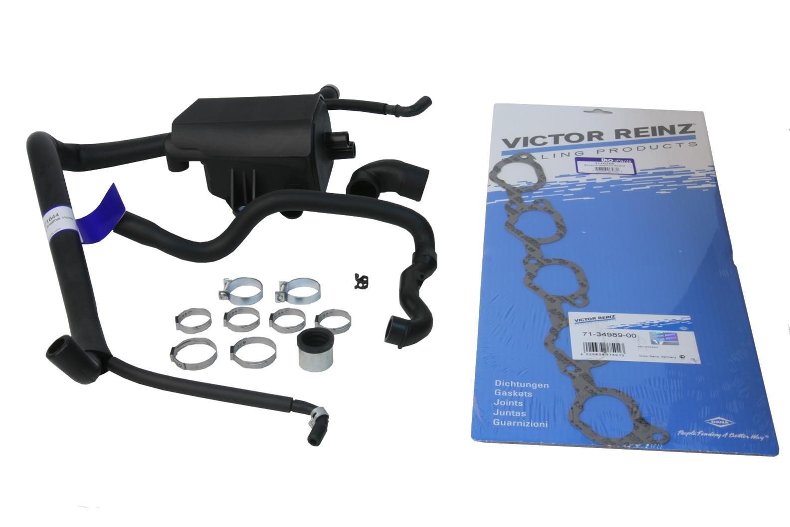 URO Parts PCV and Crankcase Breather Hoses VO-850PCVKIT