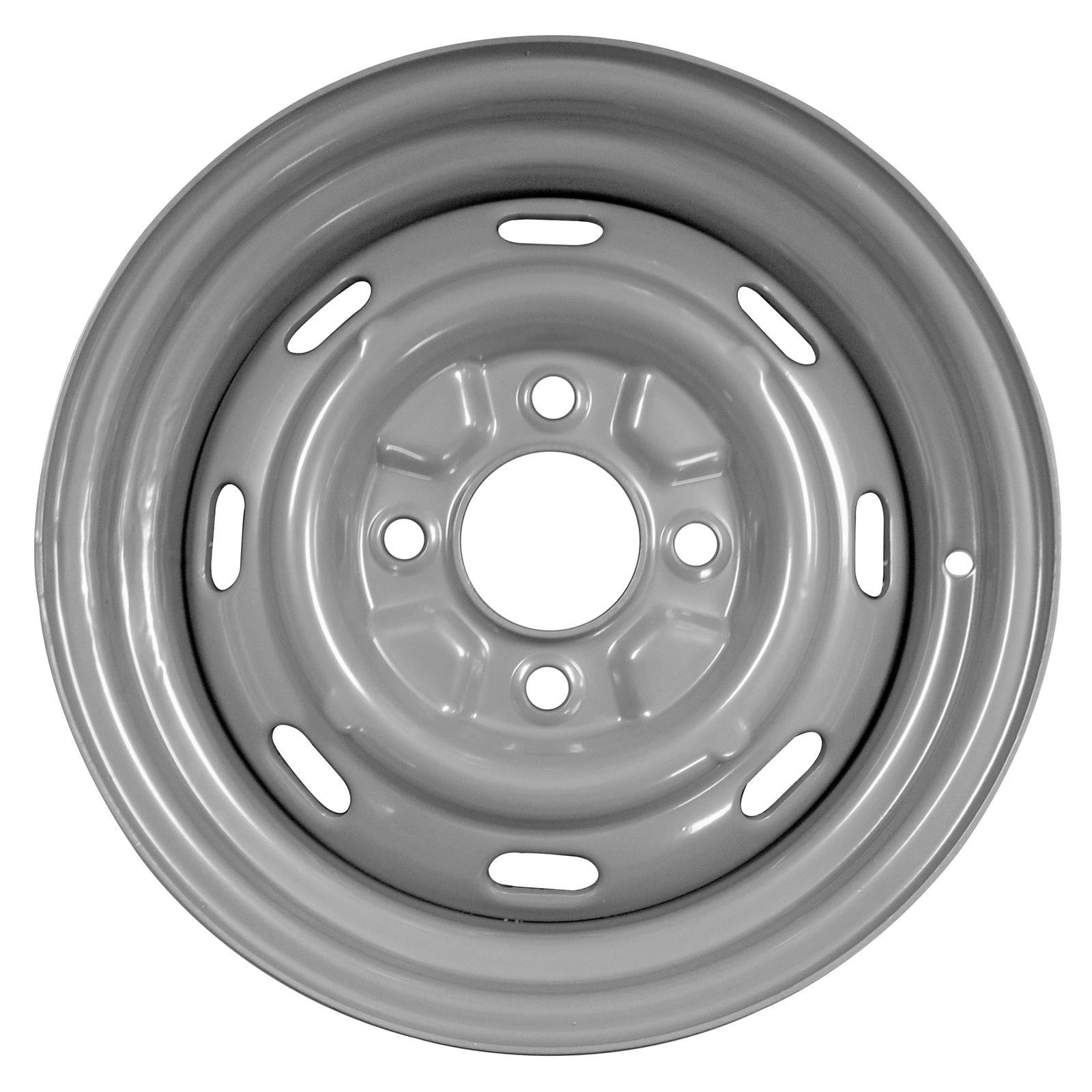 Vw Bug Air Cooled Wheels: US Wheel 131 VW BEETLE/GHIA 15x4.5 4x130mm Steel Silver Ea