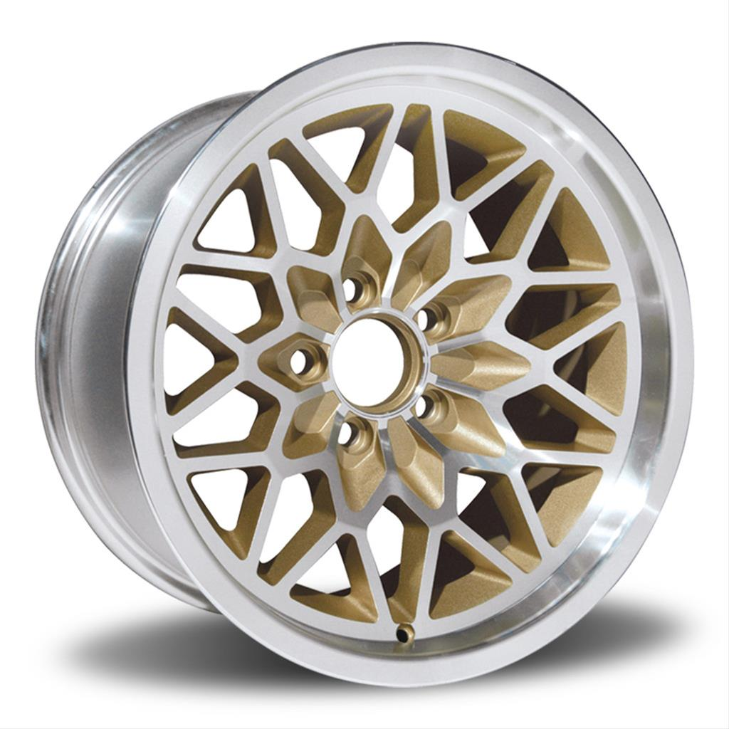 U S Wheel Classic Muscle Car Snowflake Series Silver Wheels With