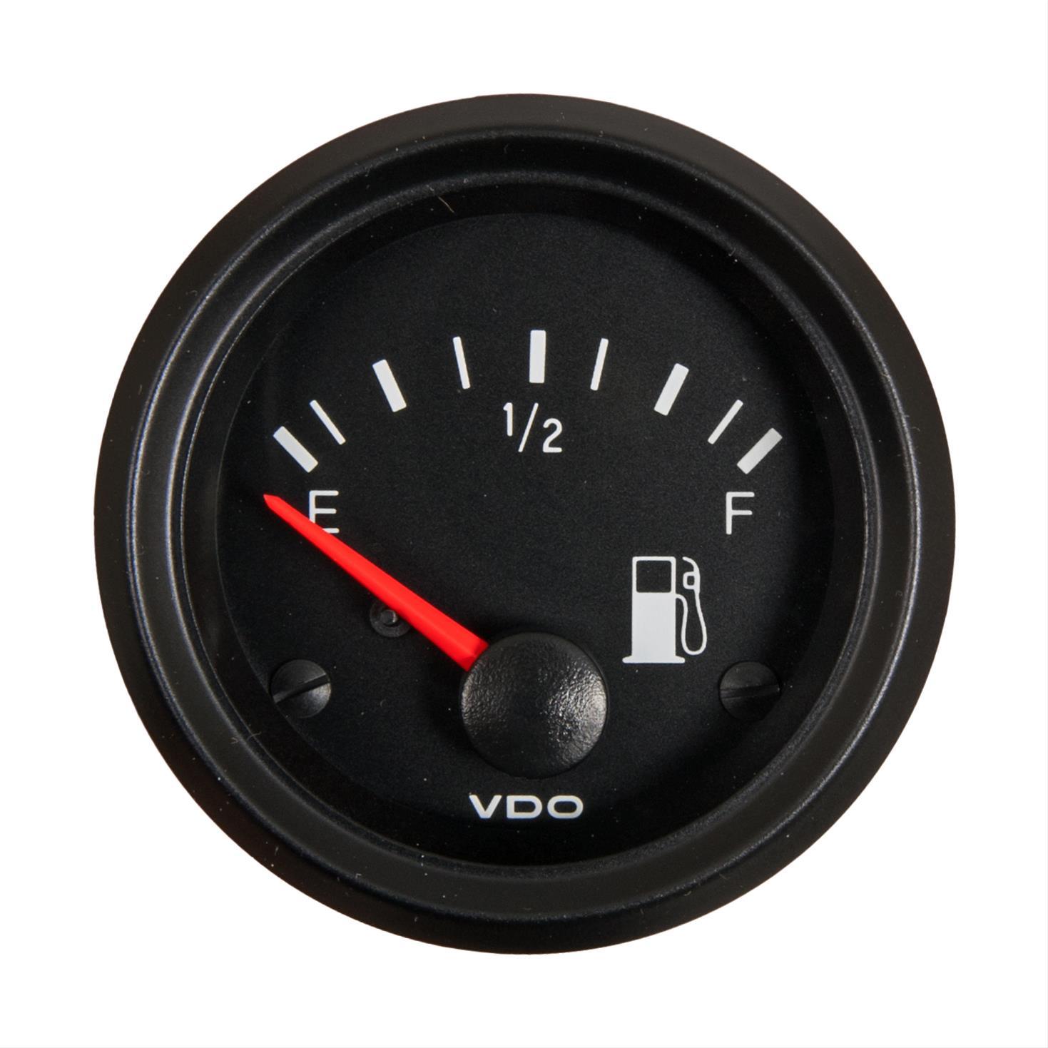 Vdo Tachometer Repair Gas Gauge Wiring Diagram 240 33 Ohm Gauges 301 904 Fuel 33ohm