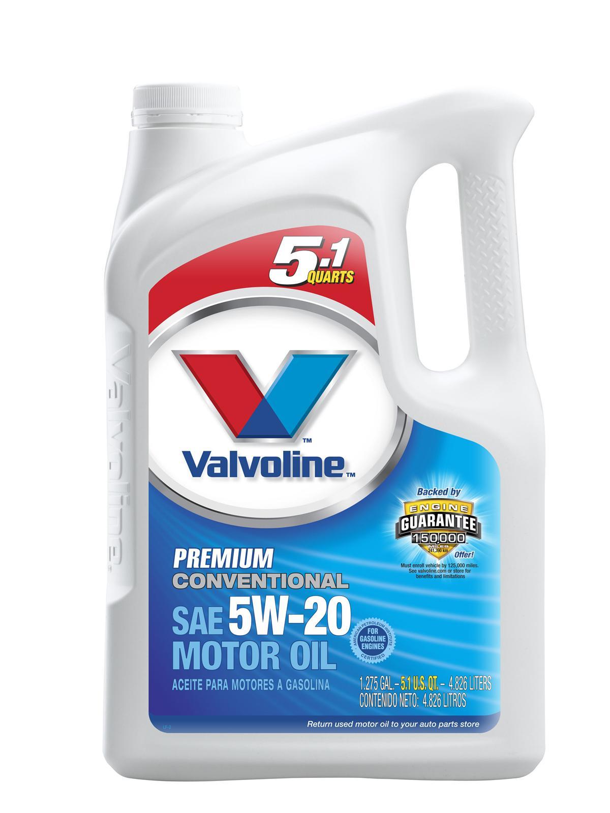 Valvoline Premium Conventional Motor Oil 784937 Free
