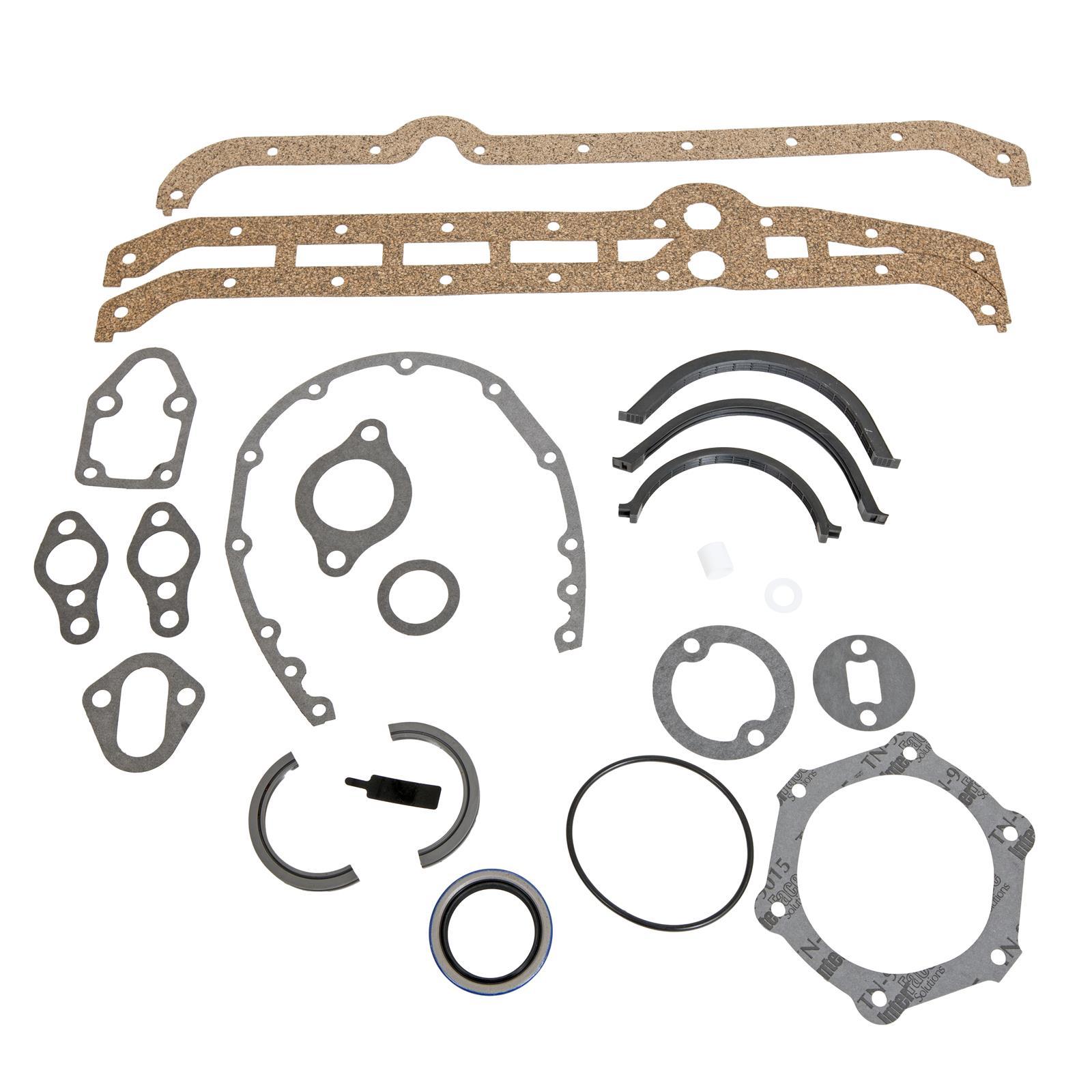 Small block Chevrolet lower engine gasket set Fel Pro CS7733-2