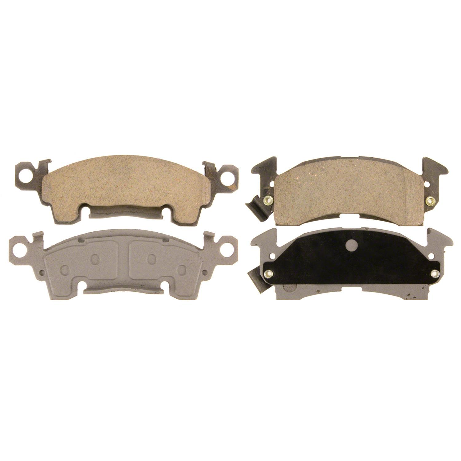 Disc Brake Pad Set-ThermoQuiet Disc Brake Pad Rear Wagner PD347A