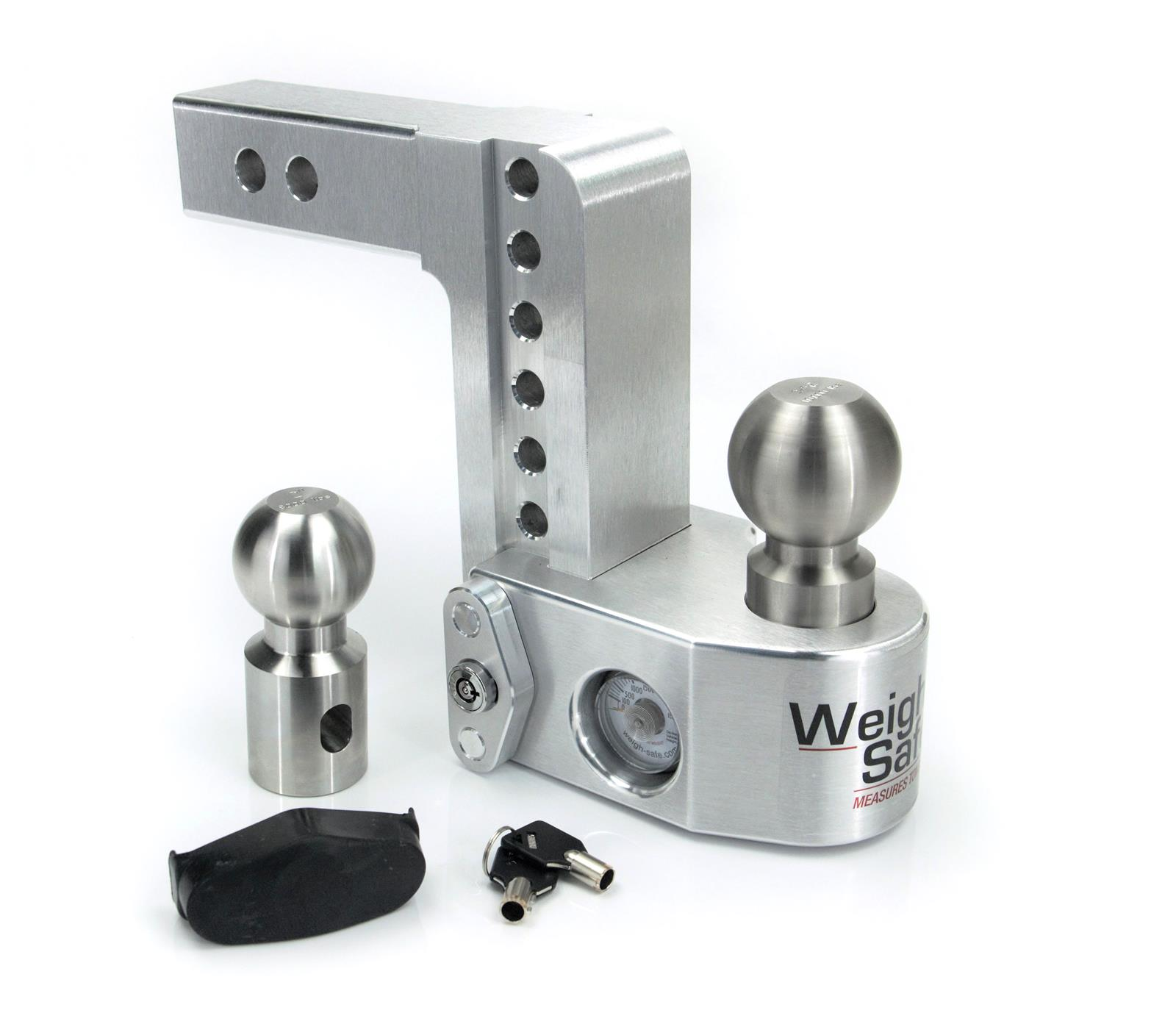 2 Ball Hitch >> Weigh Safe Trailer Hitch Ball Mounts Ws6 2