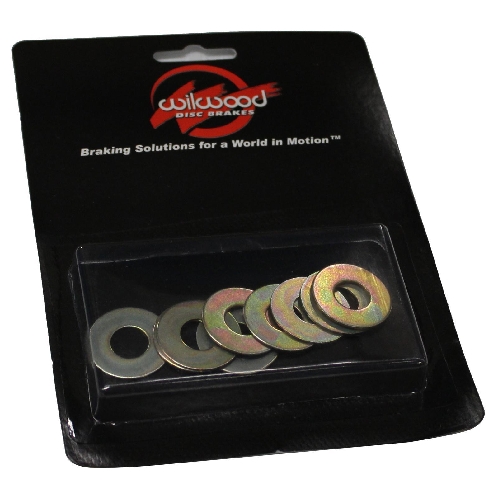 Wilwood 240-4384 .032 3//8 Hole Caliper Shim Pack of 10