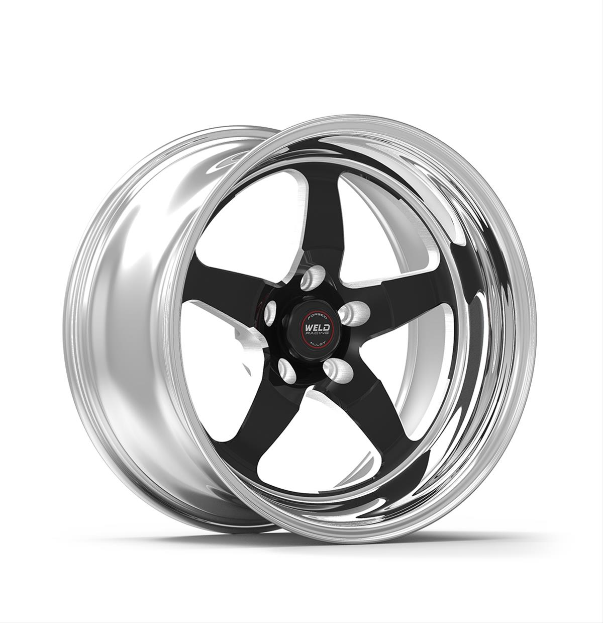 weld racing rt s s71 forged aluminum black anodized wheels