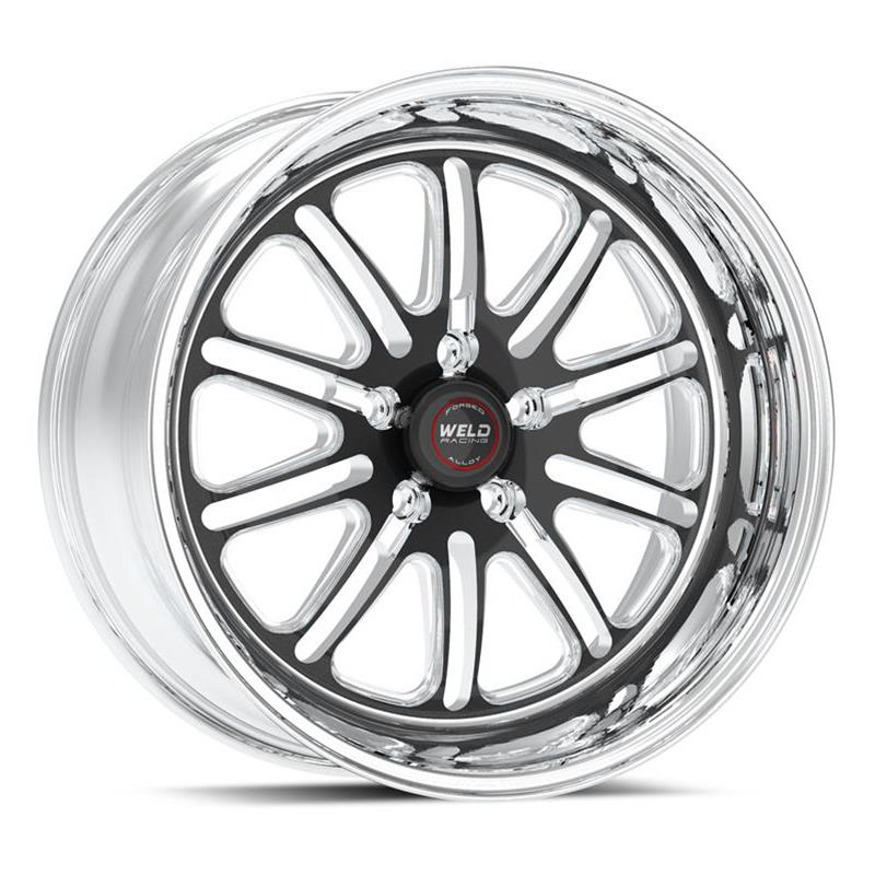 Weld Racing RT-S S72 Forged Aluminum Black Anodized Wheels