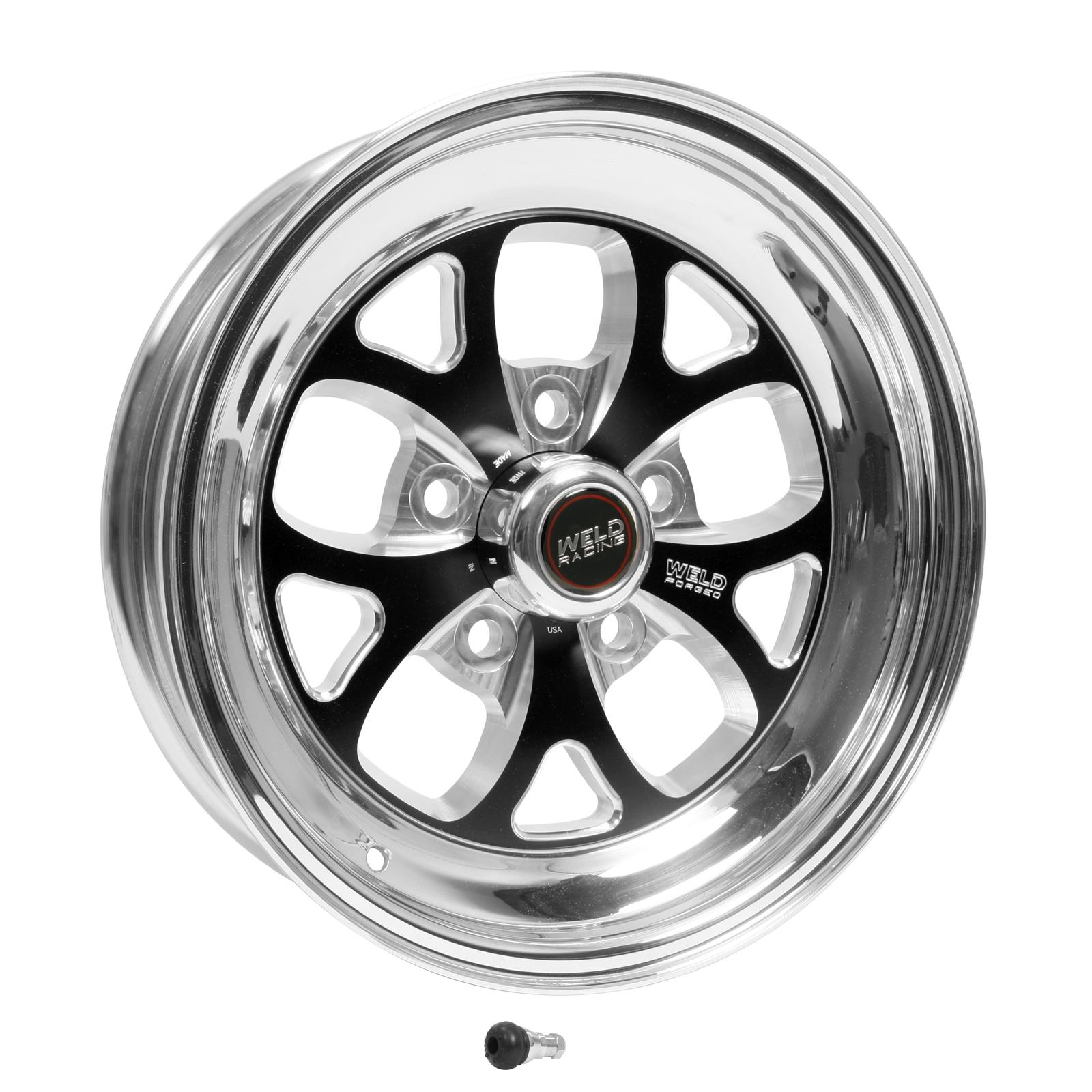 Weld Racing RT-S S76 Forged Aluminum Black Anodized Wheels ...