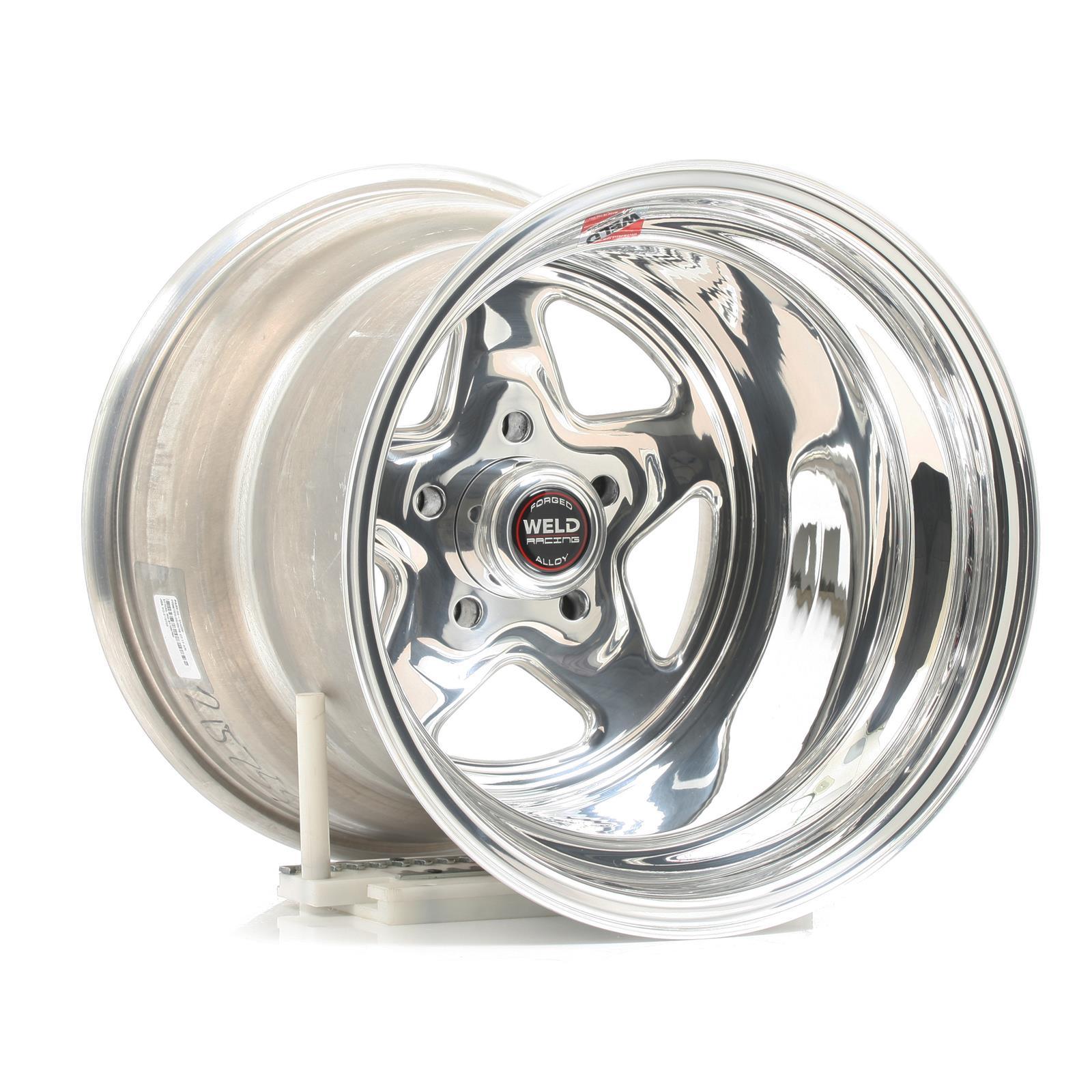 Series 96 Weld Racing Pro Star Polished Aluminum 15 X 10 Inch Wheel