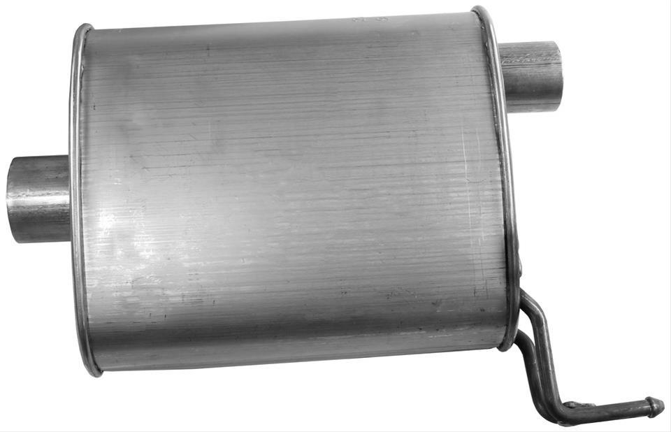 Exhaust Muffler Assembly-Quiet-Flow SS Muffler Assembly Walker 50072