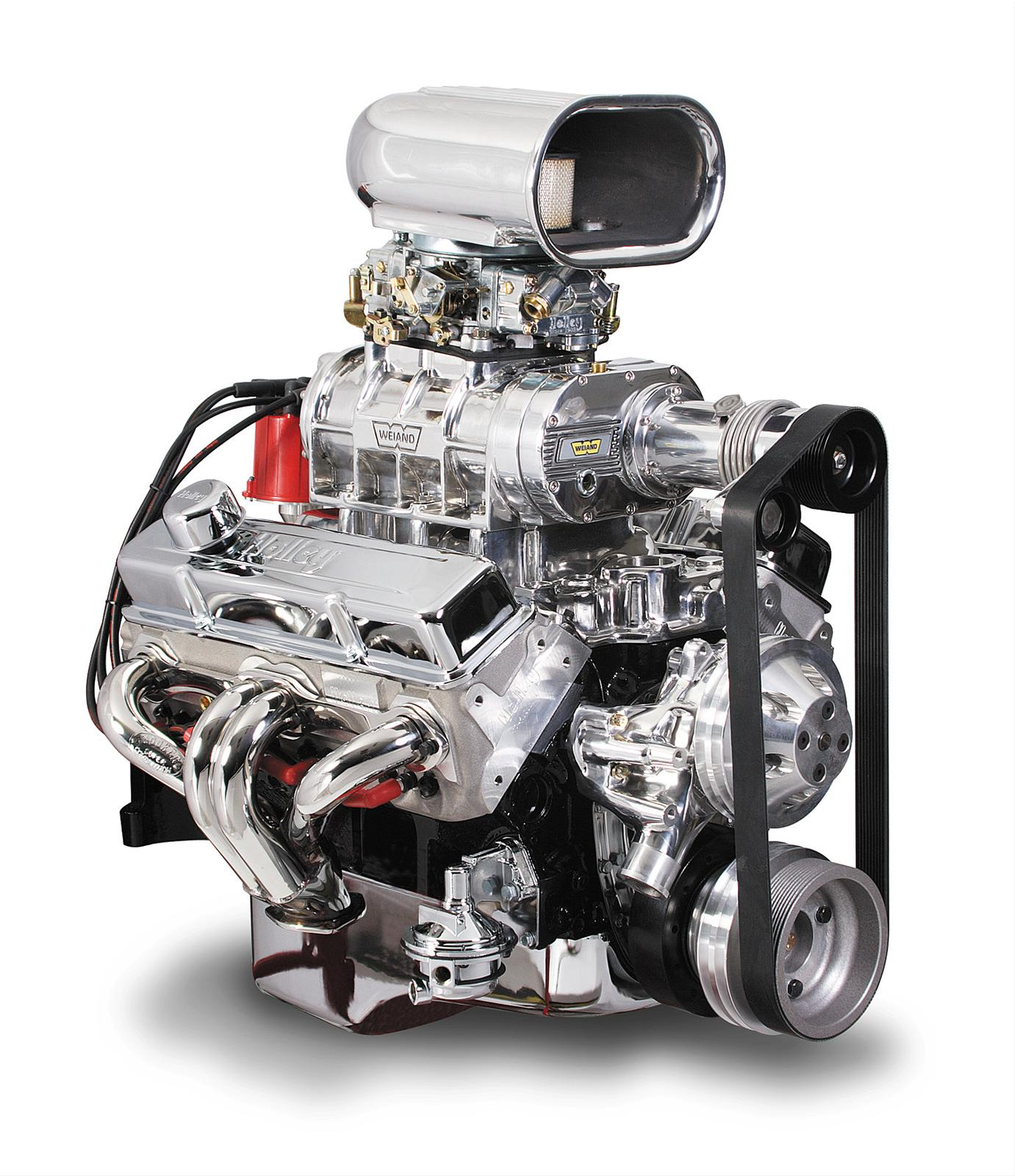 Roots Supercharger Carbs: Weiand Supercharger System Roots 177 Series Polished Chevy