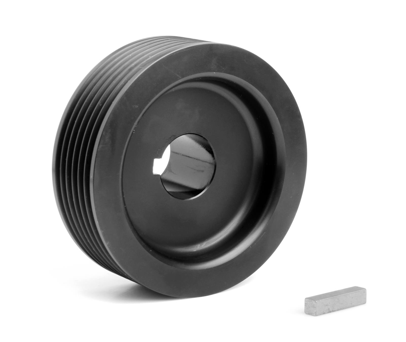 Aluminum Supercharger Pulley: Weiand Pulley Supercharger Serpentine Aluminum Black