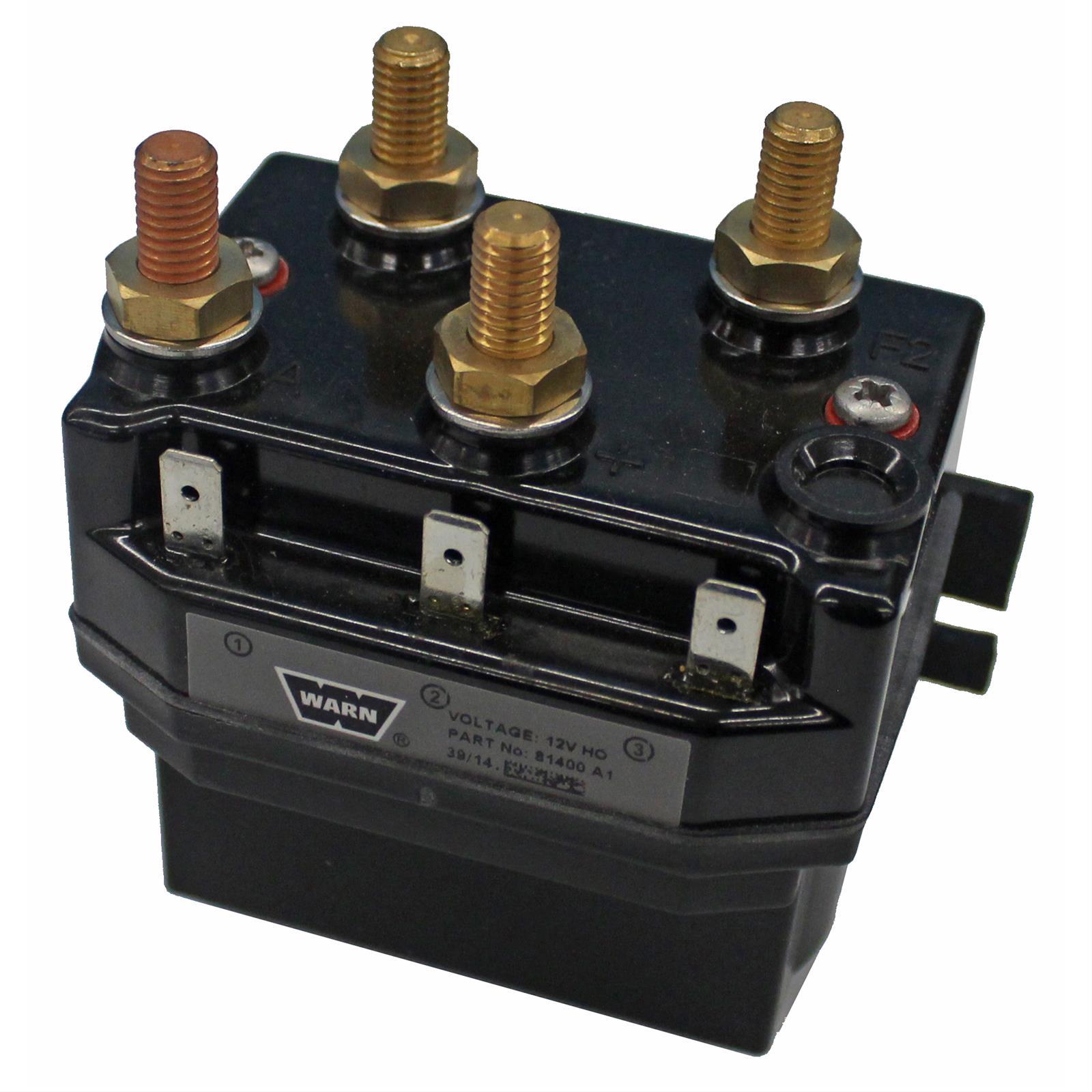 Warn 81400 Contactor Block Winch Replacement Part Zeon 8
