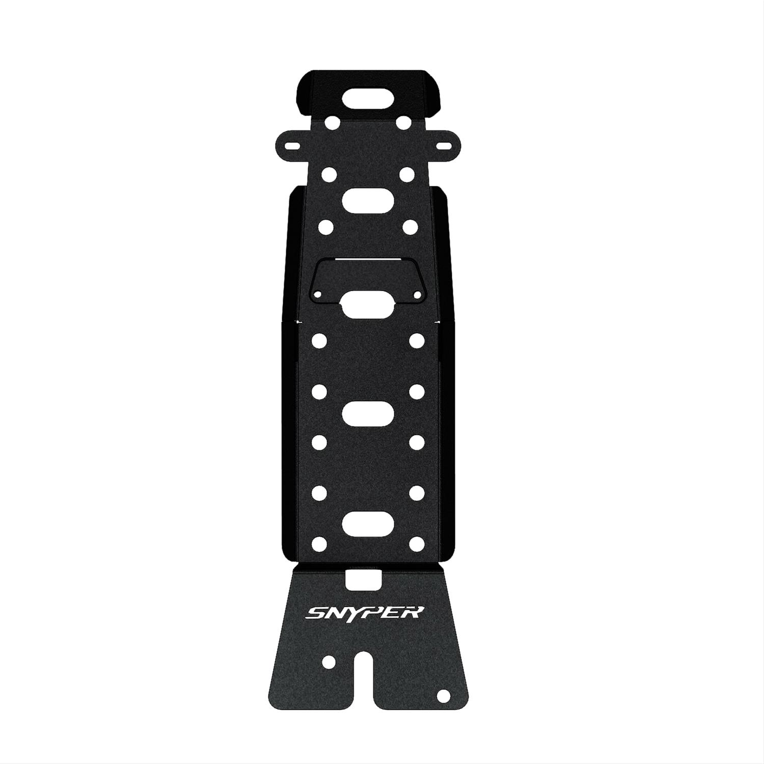 Westin Automotive Products 42-21025 Snyper Textured Black Transfer Case Skid Plate
