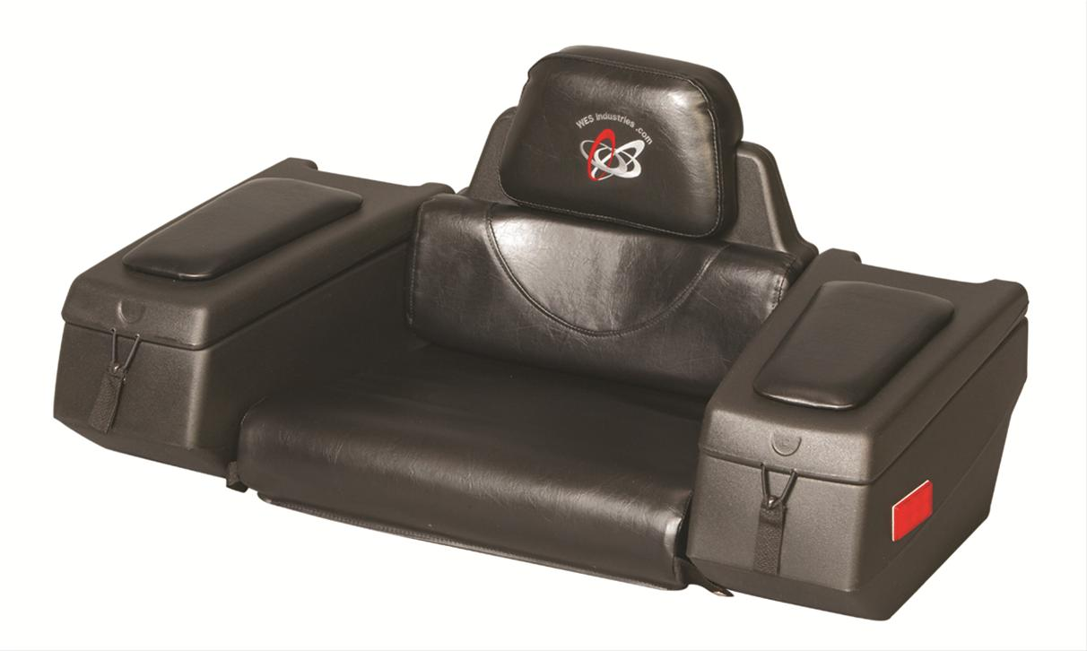 WES AR-38 Cargo ATV Rear Rack Back Rest Gear Storage Box 123-0020