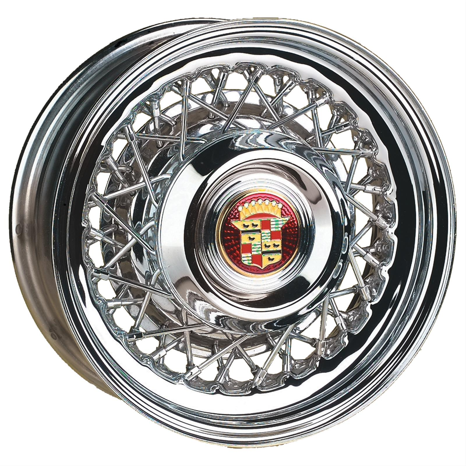 Wheel Vintiques 74 Series Cadillac Style Wire Chrome Wheels 74 ...