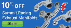 10% Off Exhaust Manifolds