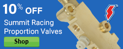 10% Proportion Valves