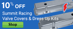10% Off Summit Racing Valve Covers