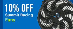 10% Off Summit Racing Fans