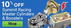 10% Off Summit Racing Master Cylinders & Boosters