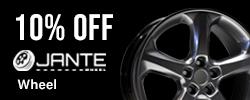 10% Off Jante Wheel