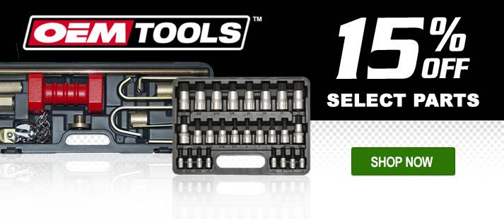 15% Off OEM Tools